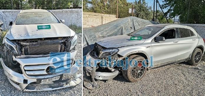 FUE RECUPERADO.- Este es el vehículo de alta gama recuperado por personal de la Tenencia de Carabineros en Catemu, el mismo fue entregado a su verdadero dueño.