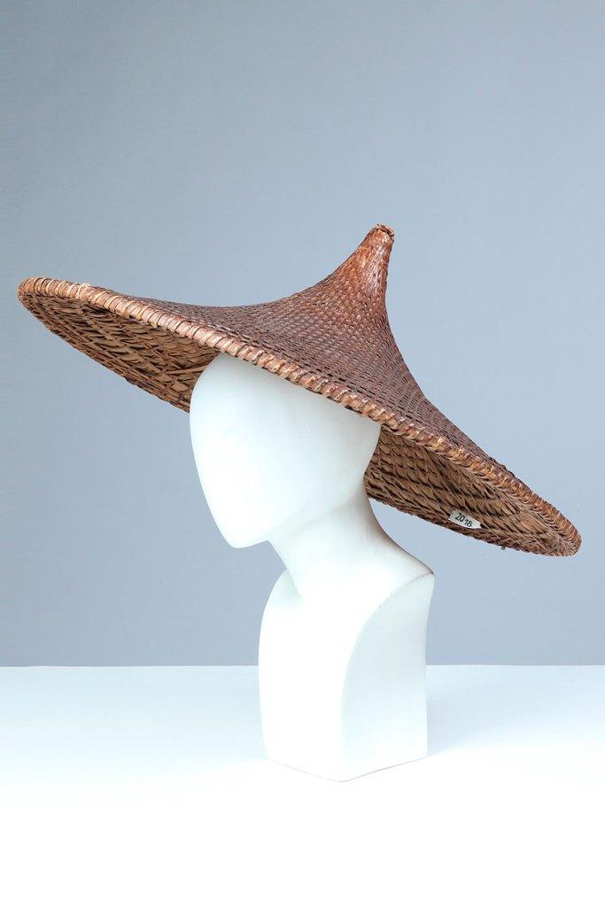 Sombrero de bambú