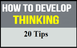 how to develop thinking in classroom