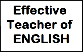 tips to be effective teacher of English