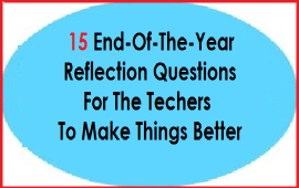 reflections for teachers to make things better