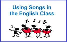 Using songs in EFL classes