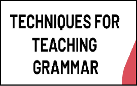 techniques to teach grammar
