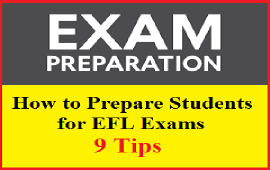 tips to prepare students for EFL exams