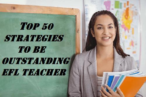 be outstanding EFL teacher