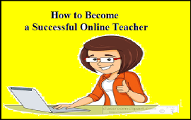 how to become a successful online teacher