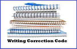 writing correction code