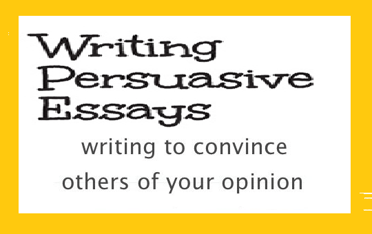 tips on writing to convince people of your opinion