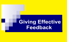 tips to give effective feedback