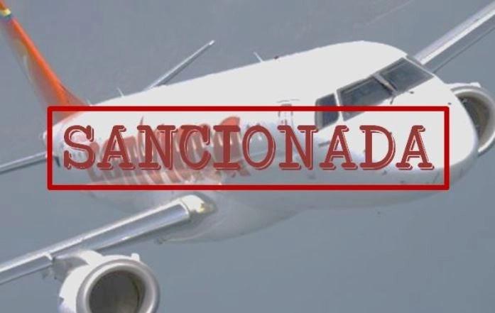 Sanciones a CONVIASA estrangulando la operatividad del régimen de Maduro