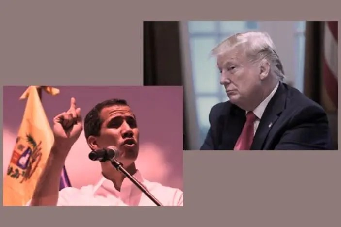Guaidó fue simplemente ignorado por Trump