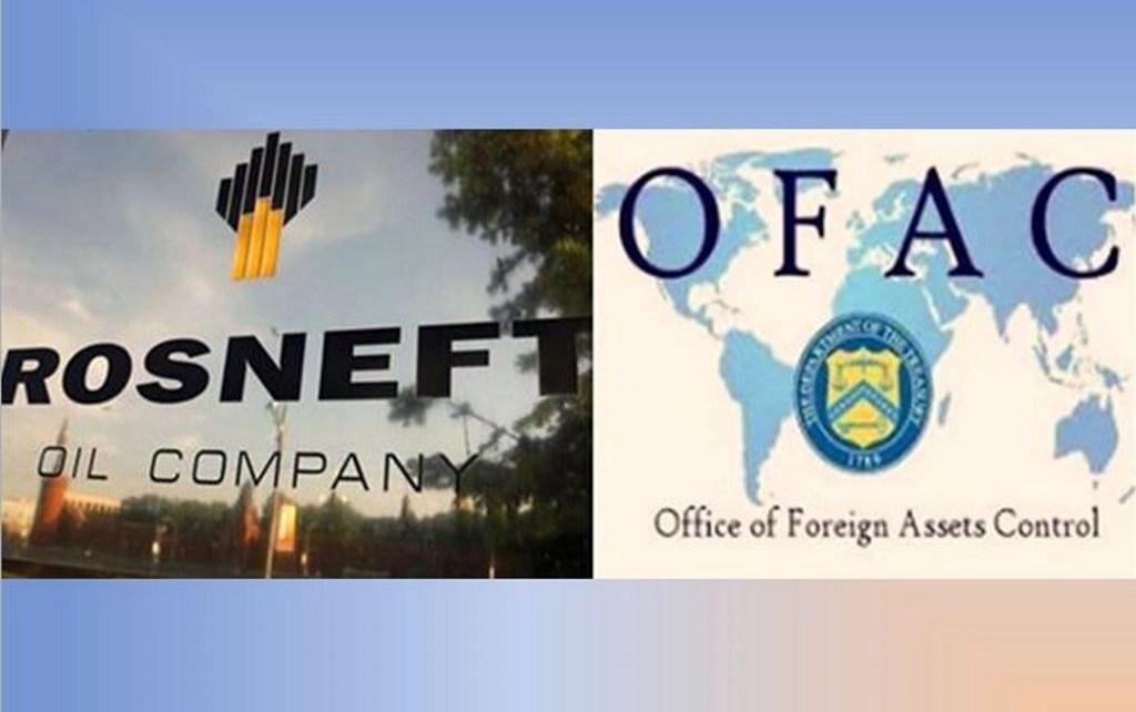 EEUU sancionó a petrolera rusa Rosneft por apoyar a Maduro