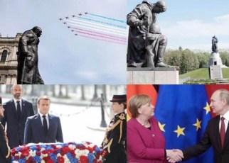 75 años de la victoria aliada sobre la Alemania nazi en la Segunda Guerra Mundial