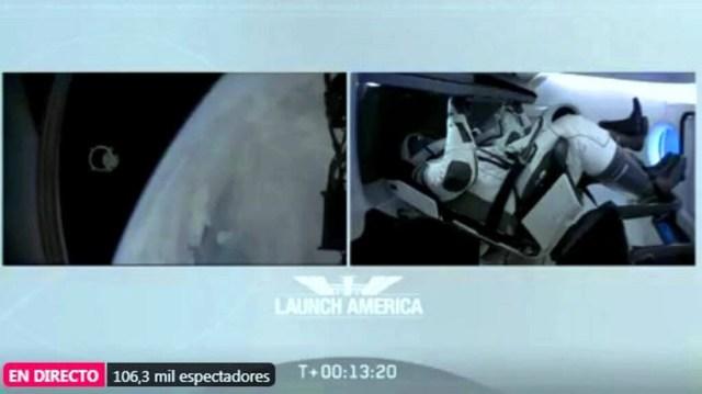 SpaceX lanza su primera misión