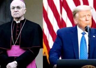 Carta del ex-Nuncio Apostólico en Washington a Donald Trump