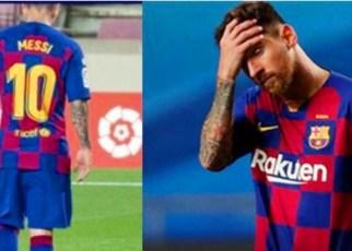 Messi renuncia al Barcelona