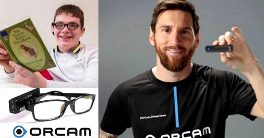 Messi y su campaña para ayudar a niños ciegos
