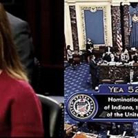 Jueza Amy Coney Barrett fue confirmada para la Corte Suprema de EE.UU