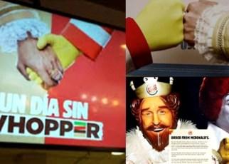 Burger King pide a sus clientes que compren en McDonald's