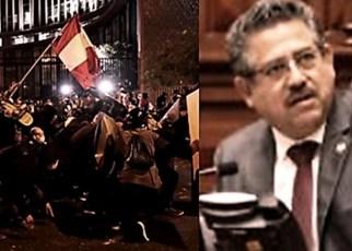 En Perú finalmente Merino renunció