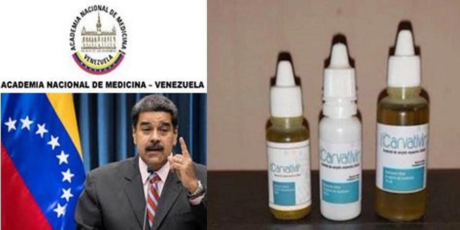 """Preocupación ante las """"gotas milagrosas"""" de Maduro contra el virus chino"""