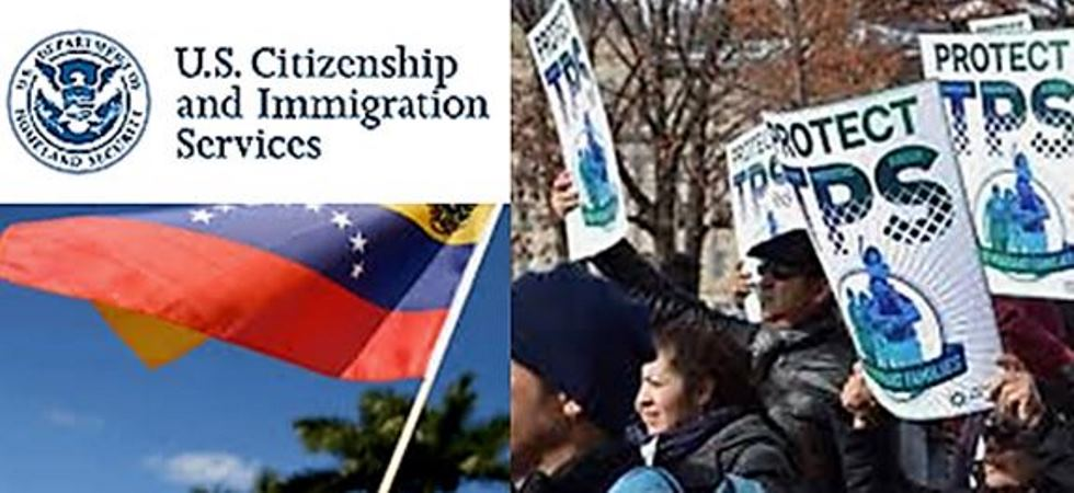 La designación de Venezuela para TPS por EEUU