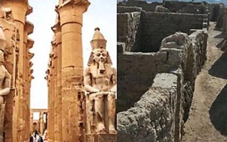 Hallazgo de una ciudad de 3.000 años en buen estado de conservación en Egipto
