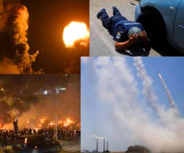 Israel bajo ataque resiste y se defiende
