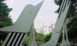 Monumentos Aves del Río de Cali, Colombia