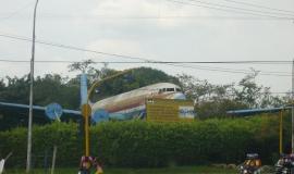 Parque el Avión en Cali, Colombia
