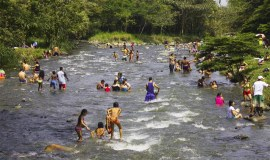 Rio Pance de Cali, Colombia