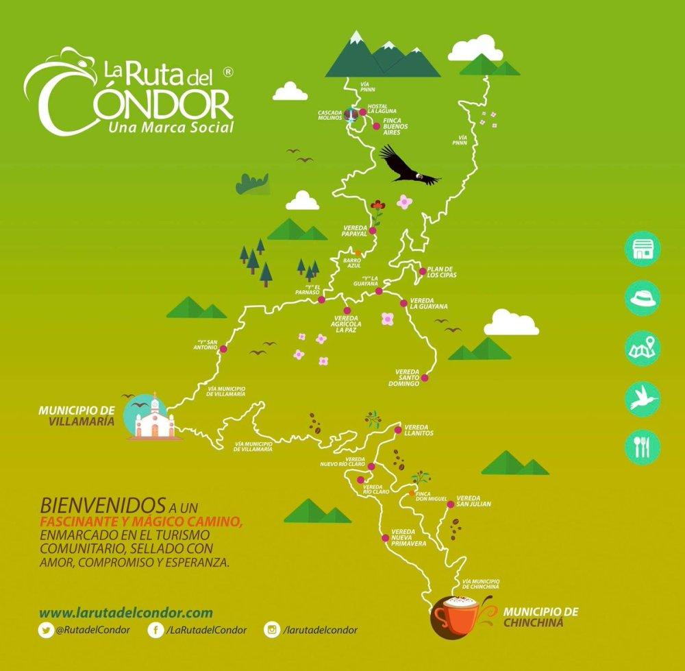 Ruta del Cóndor Río Claro Villamaría - Colombia Travel