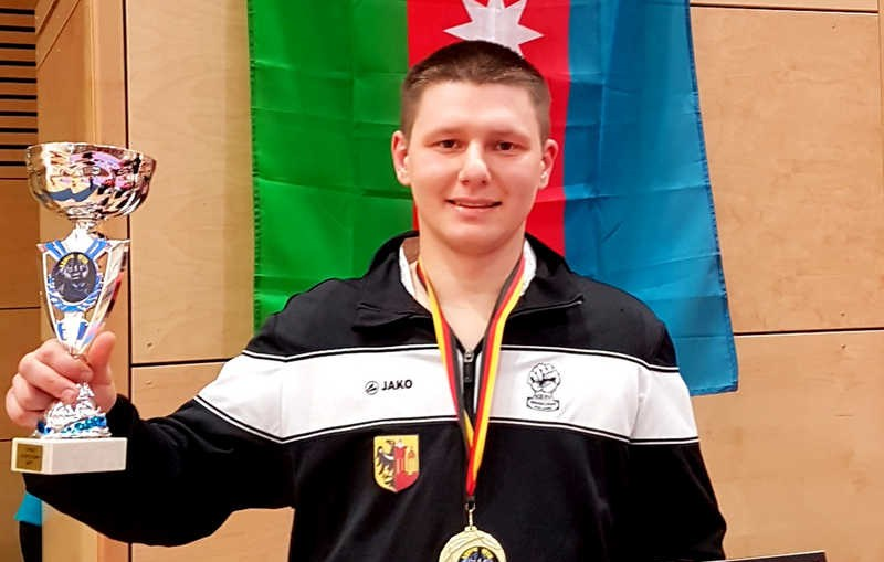 Artur Trubicki ponownie pierwszy w Międzynarodowych Zawodach Karate