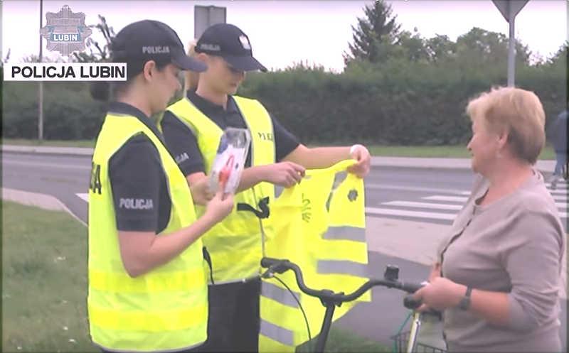 Lampki i kamizelki odblaskowe dla niechronionych uczestników ruchu drogowego