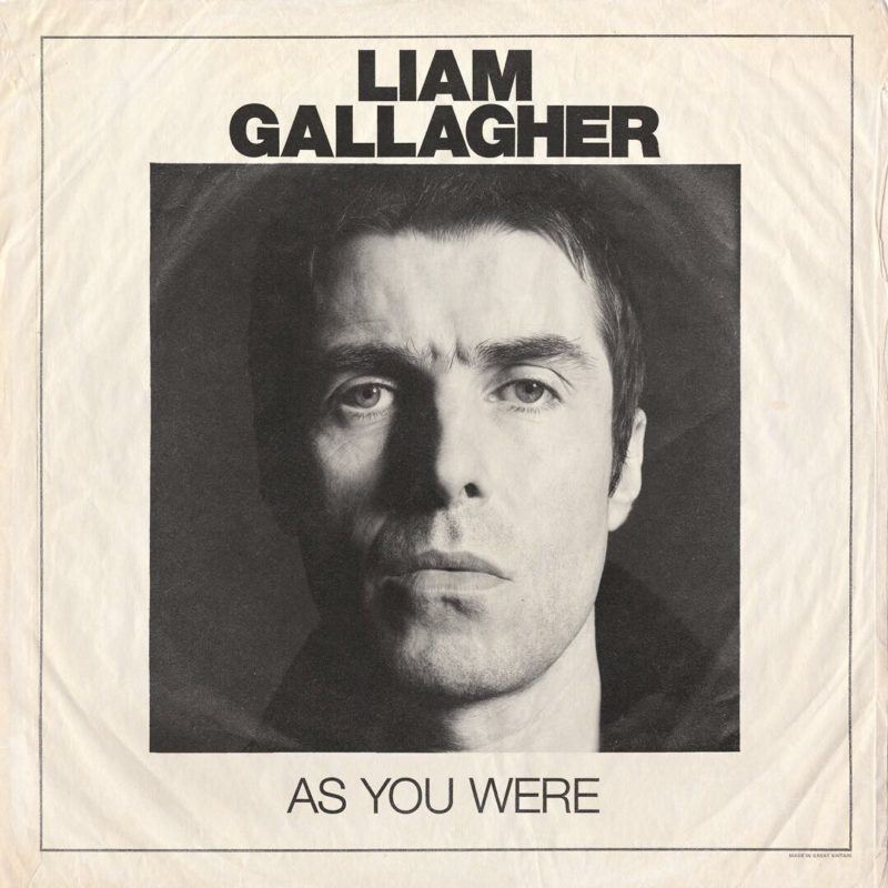 As You Were, el nuevo álbum de Liam Gallagher