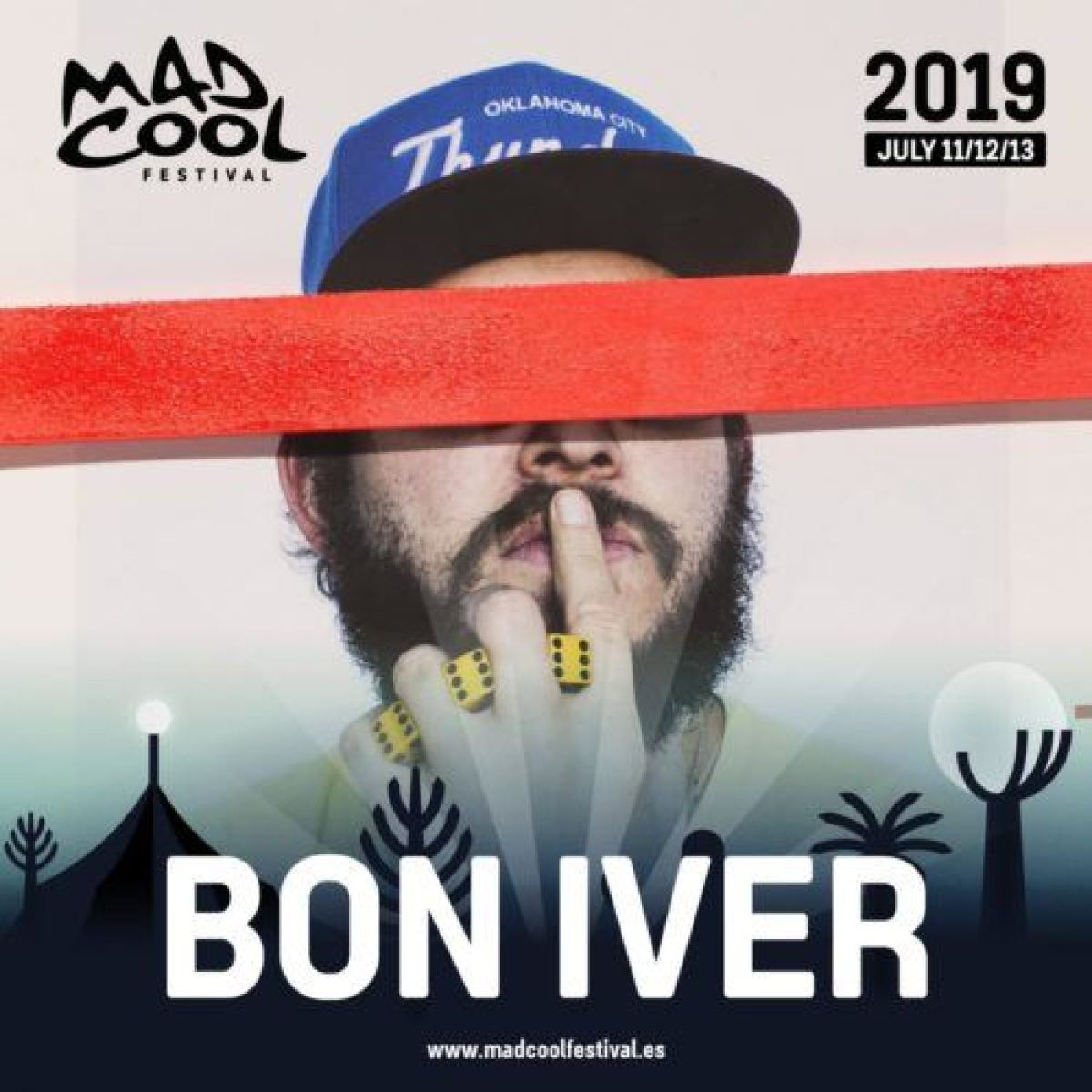 Bon Iver Mad Cool Festival 2019