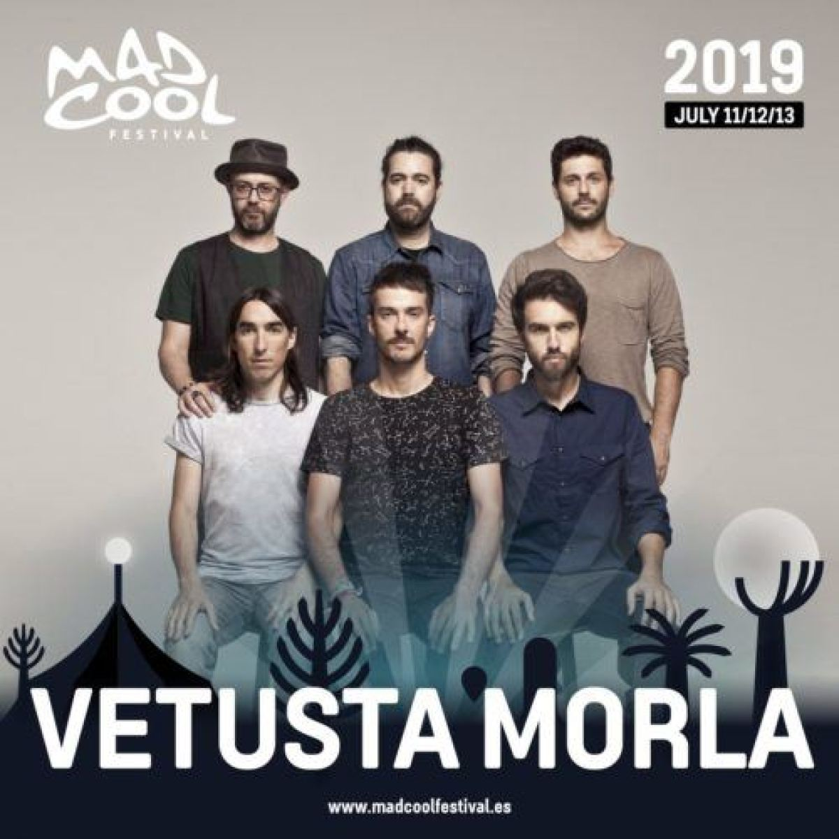 Mad Cool 2019 Vetusta Morla cartel