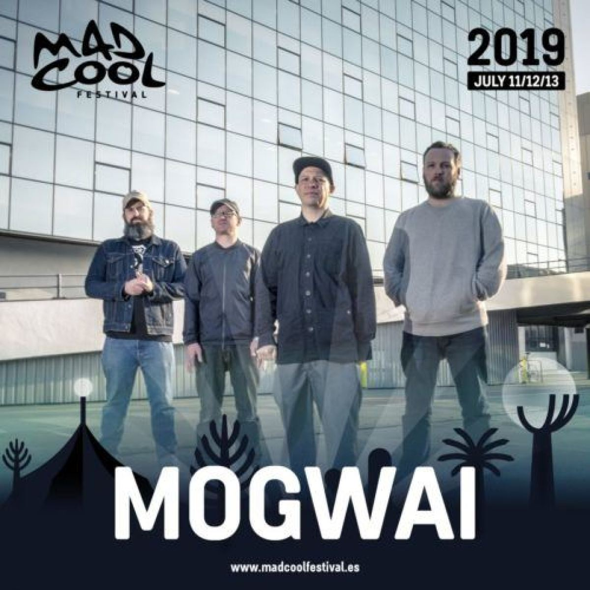 Mogwai Mad Cool 2019