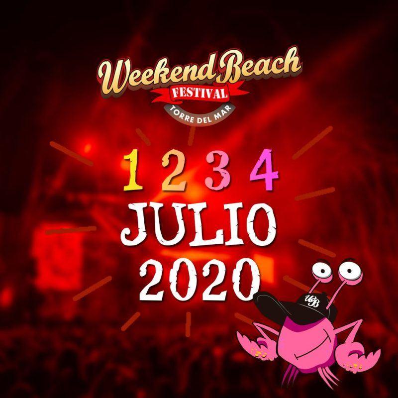 El Weekend Beach Festival 2020 agota sus primeros 15.000 abonos