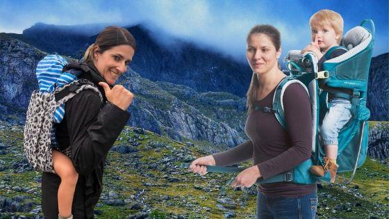 mochilas portabebes recomendadas para senderismo y montaña