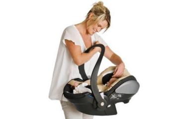 como transportar a un bebe recien nacido el coche