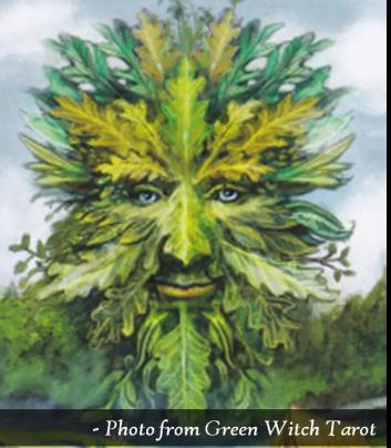Lughnasadh - Green Man