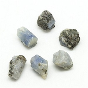 Sapphire Rough Tumbled Stone
