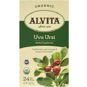 Uva Ursi Organic Tea Bags from Alvita