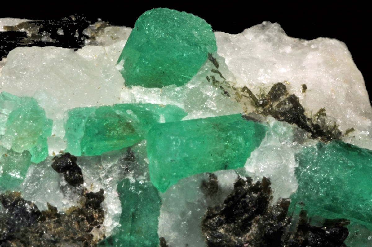 While emerald is found all over the world, Colombia is the world's biggest emerald producer. -- Emerald Facts