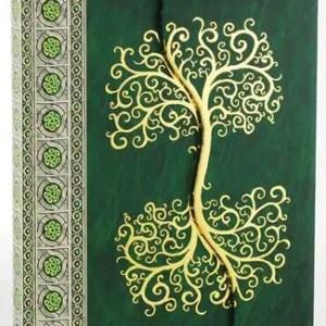 Celtic Tree Journal from AzureGreen