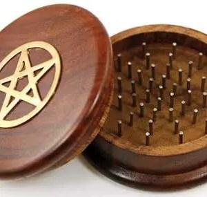 Pentagram Herb Grinder from AzureGreen