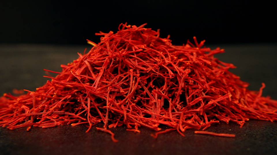 In Indian tradition, saffron is mixed with sandalwood paste and applied to the forehead to help calm the mind and nerves before meditation. -- Saffron Magical Properties and Uses