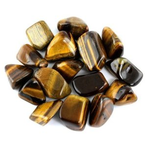 Tigers Eye Tumbled Stone from Crystal Allies Materials