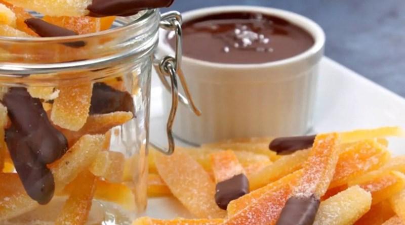 Candied Orange Peel Dipped in Chocolate- Tip Hero - Elune Blue (Featured)